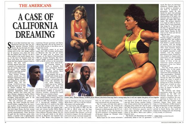 Article Preview: A CASE OF CALIFORNIA DREAMING, September 1988 | Maclean's