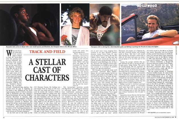 Article Preview: A STELLAR CAST OF CHARACTERS, September 1988 | Maclean's