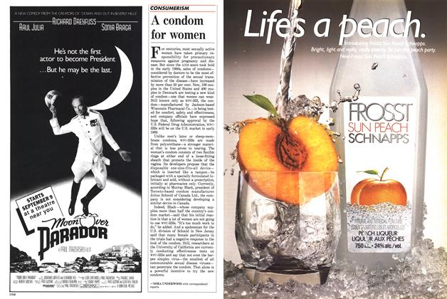 Article Preview: A condom for women, September 1988 | Maclean's