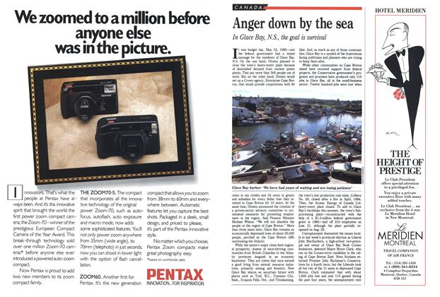 Article Preview: Anger down by the sea, SEPTEMBER 19,1988 1988 | Maclean's