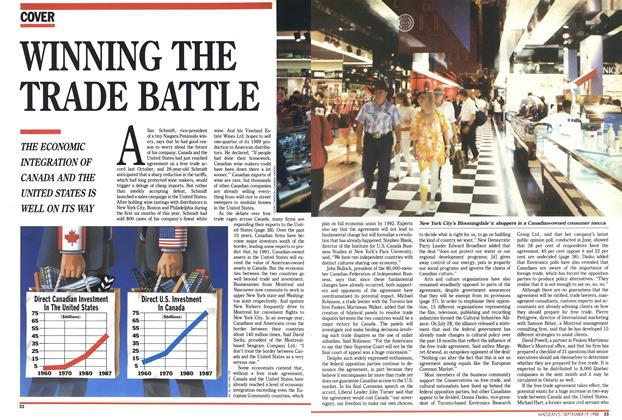 Article Preview: WINNING THE TRADE BATTLE, SEPTEMBER 19,1988 1988 | Maclean's