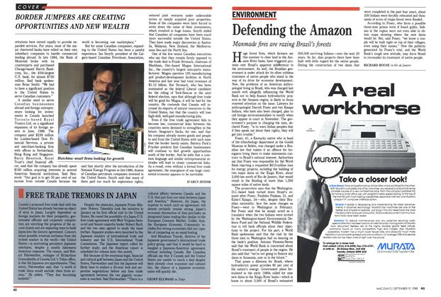 Article Preview: Defending the Amazon, SEPTEMBER 19,1988 1988 | Maclean's