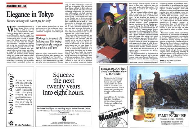 Article Preview: Elegance in Tokyo, SEPTEMBER 19,1988 1988 | Maclean's