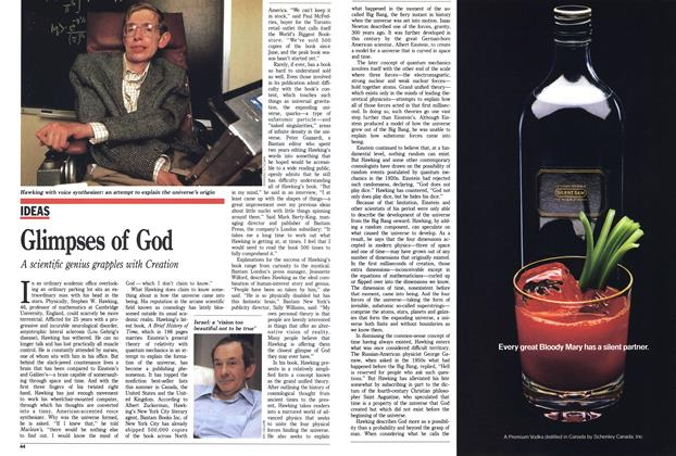 Article Preview: Glimpses of God, SEPTEMBER 19,1988 1988 | Maclean's