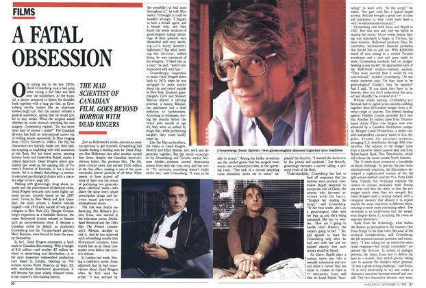 Article Preview: A FATAL OBSESSION, SEPTEMBER 19,1988 1988 | Maclean's