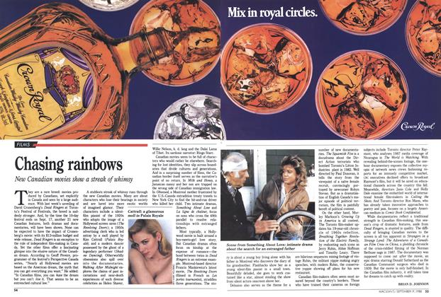 Article Preview: Chasing rainbows, SEPTEMBER 19,1988 1988 | Maclean's