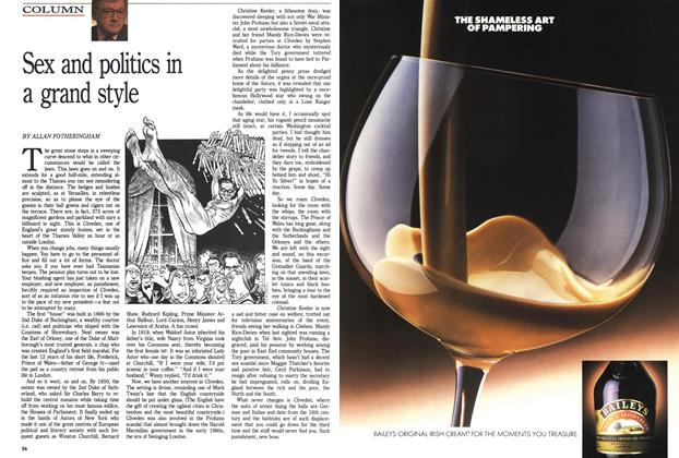 Article Preview: Sex and politics in a grand style, SEPTEMBER 19,1988 1988 | Maclean's