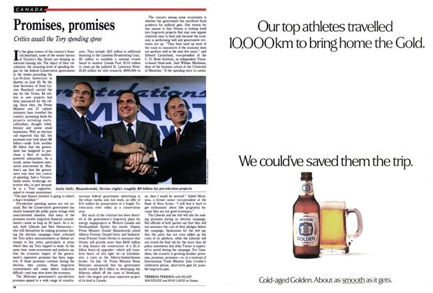 Article Preview: Promises, promises, September 1988 | Maclean's