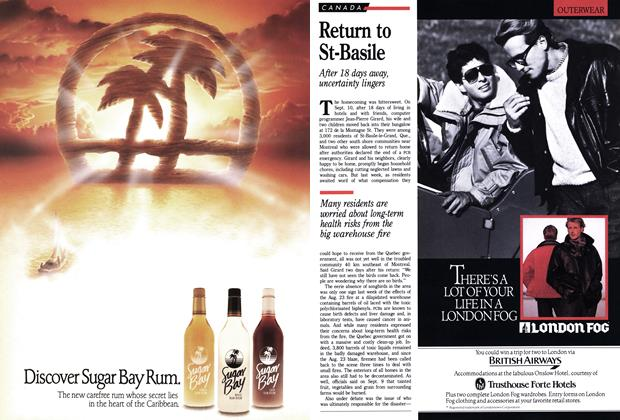 Article Preview: Return to St-Basile, September 1988   Maclean's