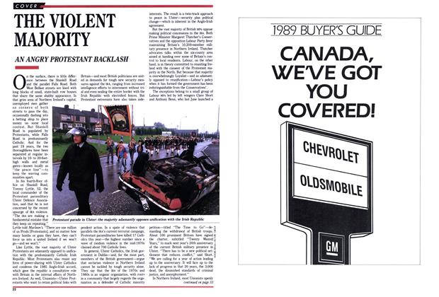 Article Preview: THE VIOLENT MAJORITY, September 1988 | Maclean's