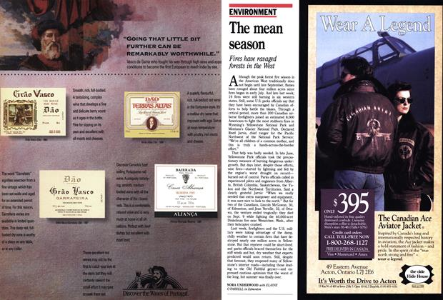 Article Preview: The mean season, September 1988 | Maclean's