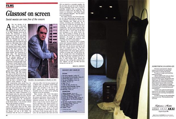 Article Preview: Glasnost on screen, September 1988 | Maclean's