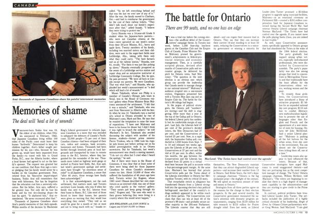 Article Preview: The battle for Ontario, October 1988 | Maclean's