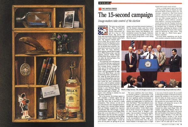 Article Preview: The 15-second campaign, October 1988 | Maclean's