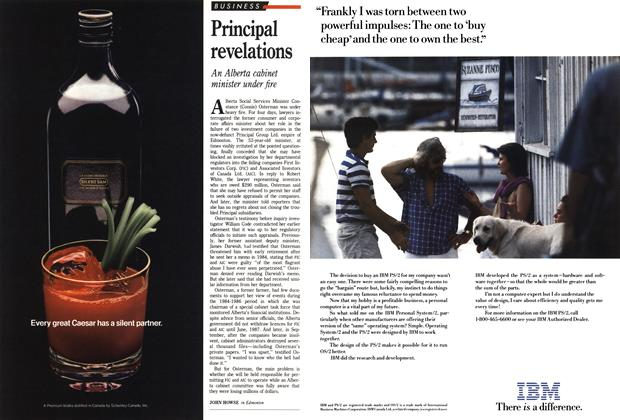 Article Preview: Principal revelations, October 1988 | Maclean's