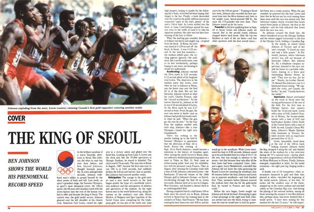 Article Preview: THE KING OF SEOUL, October 1988 | Maclean's