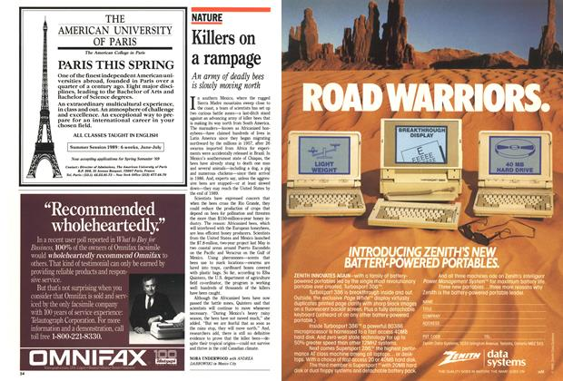 Article Preview: Killers on a rampage, October 1988 | Maclean's