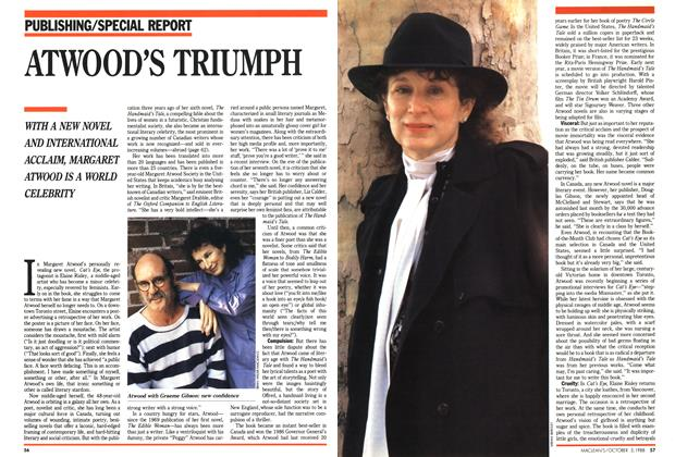 Article Preview: ATWOOD'S TRIUMPH, October 1988 | Maclean's
