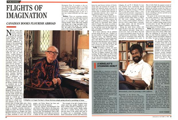 Article Preview: FLIGHTS OF IMAGINATION, October 1988 | Maclean's