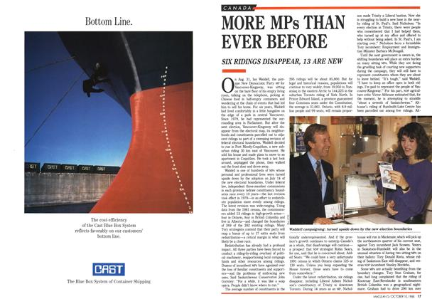 Article Preview: MORE MPs THAN EVER BEFORE, October 1988   Maclean's