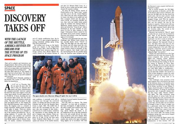 Article Preview: DISCOVERY TAKES OFF, October 1988 | Maclean's