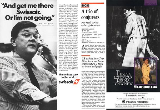 Article Preview: A trio of conjurers, October 1988 | Maclean's