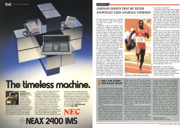 Article Preview: ONLY THE STORY HAS SALES VALUE, October 1988   Maclean's