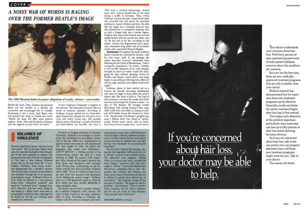 Article Preview: VOLUMES OF VIRULENCE, October 1988 | Maclean's