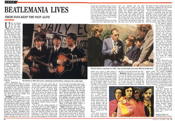 Article Preview: BEATLEMANIA LIVES, October 1988 | Maclean's