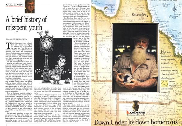 Article Preview: A brief history of misspent youth, October 1988 | Maclean's