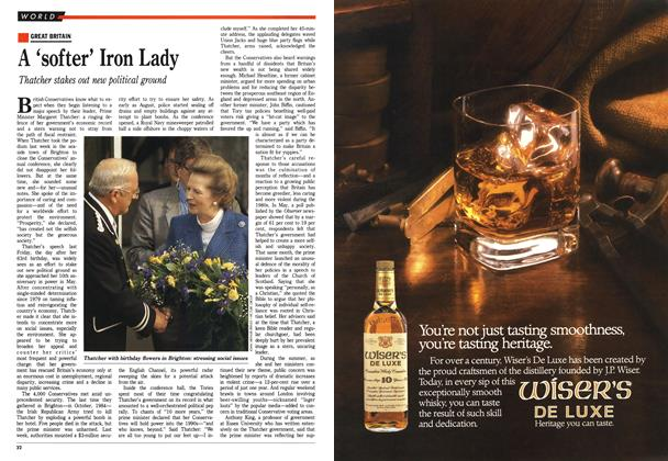 Article Preview: A 'softer' Iron Lady, October 1988 | Maclean's