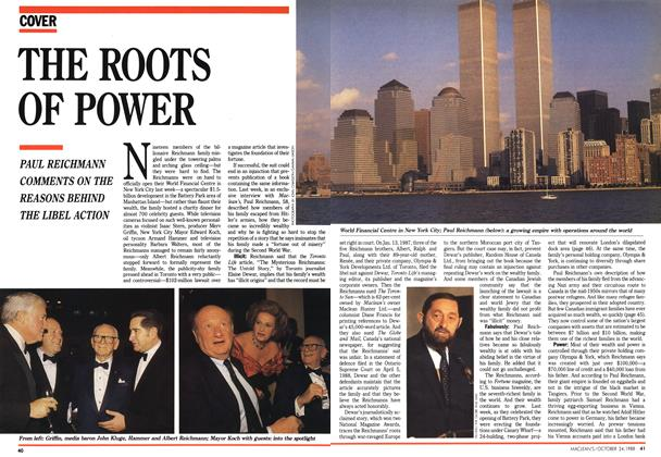 Article Preview: THE ROOTS OF POWER, October 1988 | Maclean's