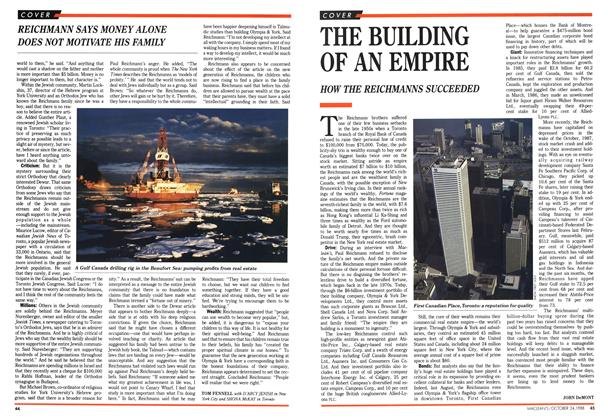 Article Preview: THE BUILDING OF AN EMPIRE, October 1988 | Maclean's