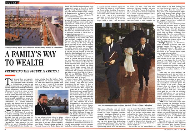 Article Preview: A FAMILY'S WAYTO WEALTH, October 1988 | Maclean's
