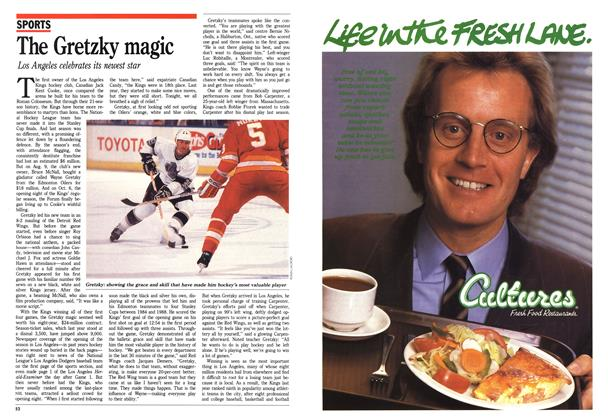 Article Preview: The Gretzky magic, October 1988 | Maclean's