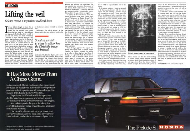 Article Preview: Lifting the veil, October 1988 | Maclean's