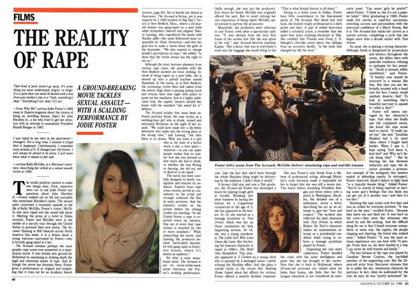 Article Preview: THE REALITY OF RAPE, October 1988 | Maclean's