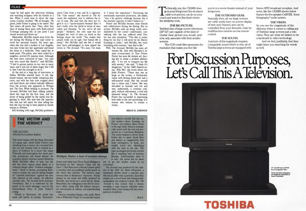 Article Preview: THE VICTIM AND THE VERDICT, October 1988 | Maclean's