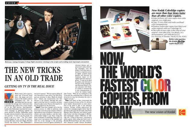 Article Preview: THE NEW TRICKS IN AN OLD TRADE, October 1988 | Maclean's