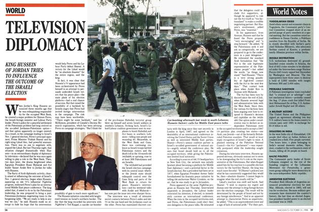 Article Preview: TELEVISION DIPLOMACY, October 1988 | Maclean's