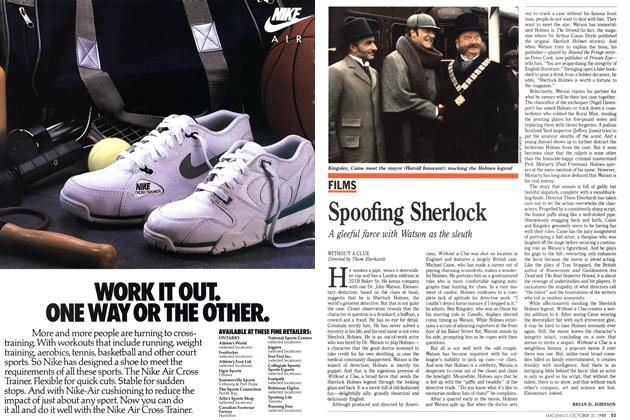 Article Preview: Spoofing Sherlock, October 1988 | Maclean's