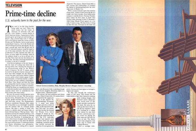 Article Preview: Prime-time decline, October 1988 | Maclean's