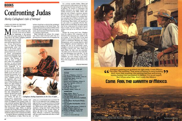 Article Preview: Confronting Judas, October 1988 | Maclean's