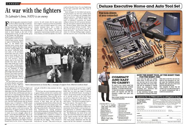 Article Preview: At war with the fighters, November 1988 | Maclean's