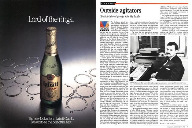 Article Preview: Outside agitators, November 1988 | Maclean's