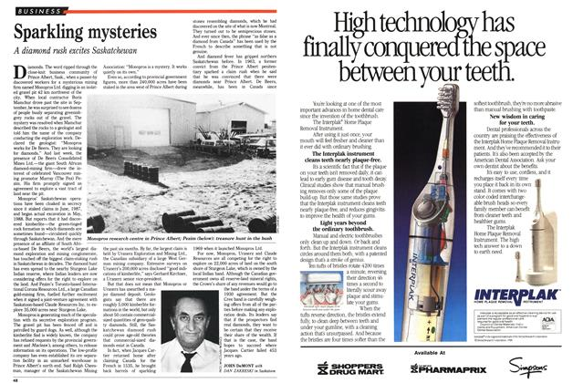 Article Preview: Sparkling mysteries, November 1988 | Maclean's