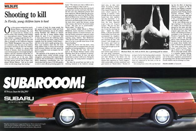 Article Preview: Shooting to kill, November 1988 | Maclean's