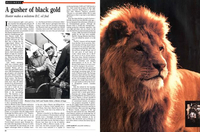 Article Preview: A gusher of black gold, November 1988 | Maclean's