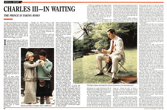 Article Preview: CHARLES III—IN WAITING, November 1988 | Maclean's