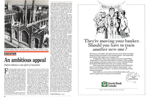 Article Preview: An ambitious appeal, November 1988 | Maclean's